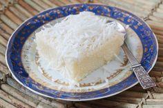 Schneller Kokosnusscreme-Kuchen