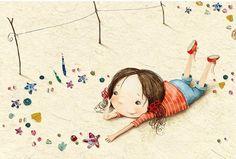 La Carpa — Lindas e doces ilustrações infantis.