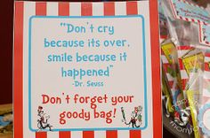 goody bag sign