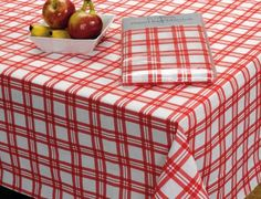 "Picnic Plaid Eco-Vinyl Tablecloth, 52""x 70"" Design Imports http://www.amazon.com/dp/B00IKL2JWS/ref=cm_sw_r_pi_dp_Jd5Qtb0M689Z82E0"