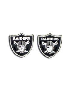 Oakland Raiders Earrings