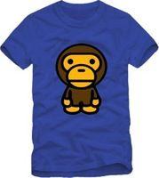 2014 Summer New Men's BabyMilo T-shirts Short Sleeve Hiphop Skateboard BabyMilo T shirts