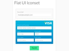 Form Payment Card