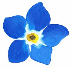 Water Color tattoo that I want. Forget me not Watercolor Cards, Watercolor Flowers, Watercolor Paintings, Watercolour, Peony Rose, Fathers Day Crafts, Forget Me Not, Painting Patterns, Elementary Art