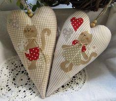Meu Mundo Craft: Bichinhos de pano e amor