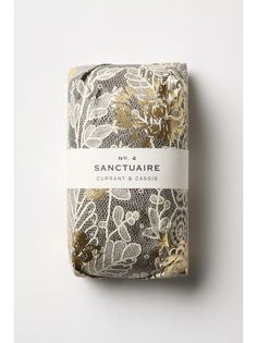 Fringe Alchemy soap packaging by Anthropologie