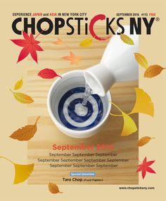 「英語で日本を紹介する月刊誌「Chopsticks NY」の表紙デザイン 10月号」へのMaru-Designさんの提案一覧