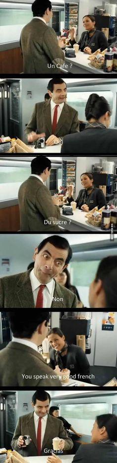 One of my favorites of Mr. Bean - 9GAG