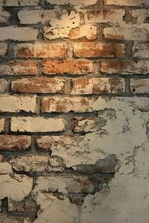Free to use texture/background Related posts:White Paint Bricks Wall MuralDIY Faux Brick WallHome Designing — (via Bedrooms With Exposed Brick Walls) Faux Brick, Brick And Stone, Old Brick Wall, Stone Walls, Thin Brick, Black Brick, Home Design, Wall Design, Design Design