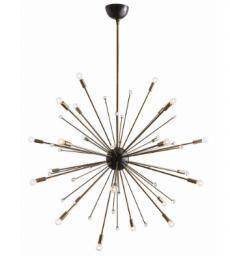Grand-chandelier-en-fini-laiton-antique-large-ceiling