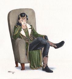 Loki - Agent of Asgard by CaptBexx on DeviantArt