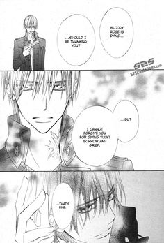 Vampire Knight| Zero and Kaname  •Yeah, that's right. Fuck off Kaname! You go Zero❤