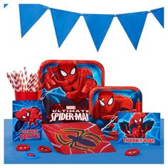 Spiderman Party Supplies Collection