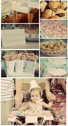 vintage shabby chic party
