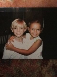 This is me and my cousin when we were about 4 or 5 don't we look exactly like twins