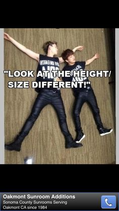 the thing is, Youngjae is not short. Zelo is just huge.