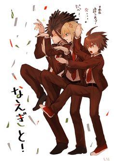 Hagaure, Togami and Naegi