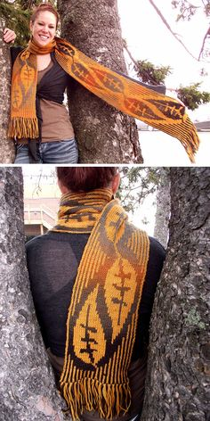 Free Knitting Pattern for Leaves of Grass Scarf - Double knit scarf with bold le. : Free Knitting Pattern for Leaves of Grass Scarf – Double knit scarf with bold leaf design. Designed by Katie Chameleon. Double Knitting Patterns, Knitting Magazine, Mittens Pattern, Knitting Accessories, Free Knitting, Leaf Design, Knit Scarves, Knits, Leaves