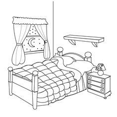 Kids Bedroom Drawing bedroom drawing for kids - magiel