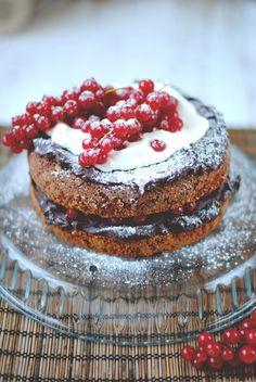 coffee walnut cake - Red velvet cooking & baking