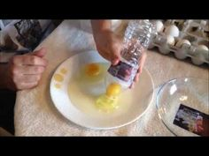 Best how to separate egg white from egg yolk using a bottle (easy way).  This is so flipping cool!!  Who would have thought?