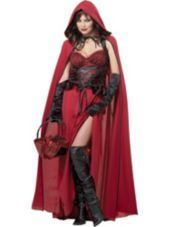Adult Crimson Red Riding Hood Costume - Party City.  I've wanted to be red riding hood for years!!