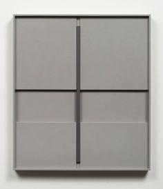 John Pittman New Work - Shadow Relief Paintings Alkyd/Wood