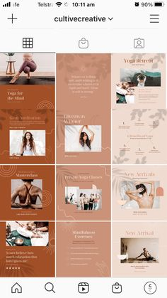 $25 · Bring harmony to your brand with the Yoga Social Feed Template, a divine set of 30 custom presets designed to give your social feeds a calming, earthy aesthetic. This robust collection of fully customizable Canva templates allows you to easily create on-brand social content to drive traffic, increase engagement, and promote tranquility. Social Proof, Instagram Feed, Instagram Posts, Instagram Post Template, Step By Step Instructions, Calming, Earthy, Branding Design, Yoga