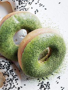 Ginger Matcha Latte Doughnuts | Donna Hay