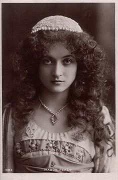 Maude Fealy, 1910's, American stage and film actress who appeared in nearly every film made by Cecil B. DeMille in the post silent film era.