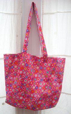Upcycled Umbrella Tote Bag