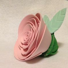 Cadbury Easter Cream Egg Rose - left Tabs located under leaves to open