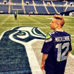 Macklemore + Seahawks