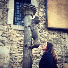 Si vas a #Girona besa el cul de la lleona.