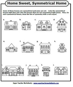 ... Symmetry Worksheets on Pinterest | Math, Worksheets and Symmetry