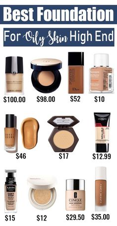 Which Is Best Foundation For Oily Skin In India - Having oily skin is no joke. Between the myriad anti-shine makeup foundation and skin-care products you Best Long Lasting Foundation, Full Coverage Matte Foundation, Best Powder Foundation, Best Foundation For Oily Skin, Dewy Foundation, Best Drugstore Foundation, Airbrush Foundation, Top Foundations, Best Cushion Foundation