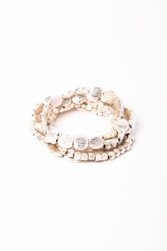 silver rush bracelet set