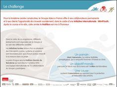 Win4Youth 2012 Objectif Monde 2012 : 1 000 000 km !