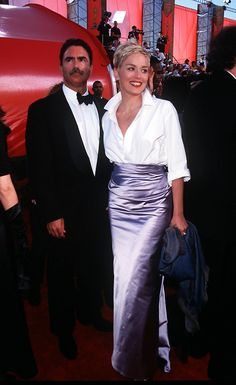 And of course this combo worn by Sharon Stone in 1998. Unbeaten and unbeatable until the present day.