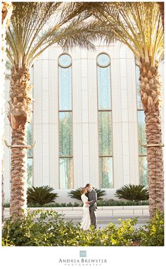Andrea Brewster Photography: Shani & Brian, A Gilbert LDS Temple and Regency Garden Wedding