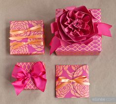 Mother's day gift wrap from ellinee.com