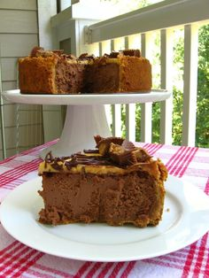 Chocolate Peanut Butter Bliss Cheesecake and Project Food Blog > Willow Bird Baking