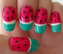 Inspiring picture black, green, nail art, diy, nail lacquer. Resolution: 400x336. Find the picture to your taste!
