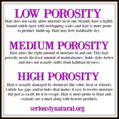Hair Porosity: Best Oils For Low Porosity Hair - Hair Loss Treatment Best Natural Hair Products, Natural Hair Care Tips, Natural Hair Regimen, Be Natural, Natural Hair Growth, Natural Hair Styles, Natural Beauty, Natural Texture, Natural Haircare