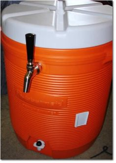 How to Make a Portable 3 Gallon Beer Dispensing Cooler - HomeBrewing.com