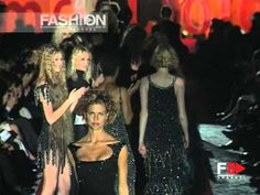 """Gai Mattiolo"" Autumn Winter 1998 1999 Rome 7 of 7 Haute Couture woman b..."
