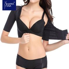 c394ea2a9c Shaper diva Women New Sexy Short Sleeve Shaper Crop Tops Shaper Arm  Shapewear Push Up Shaper
