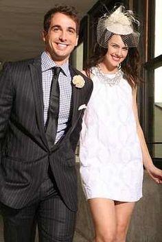 Stylish Courthouse Couple