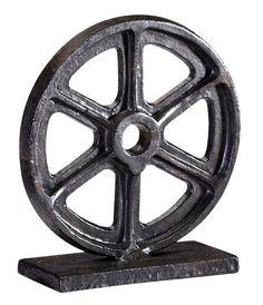 Bronze Gear Sculpture