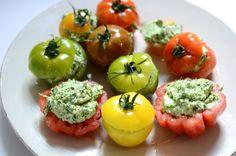 Tomates au vert
